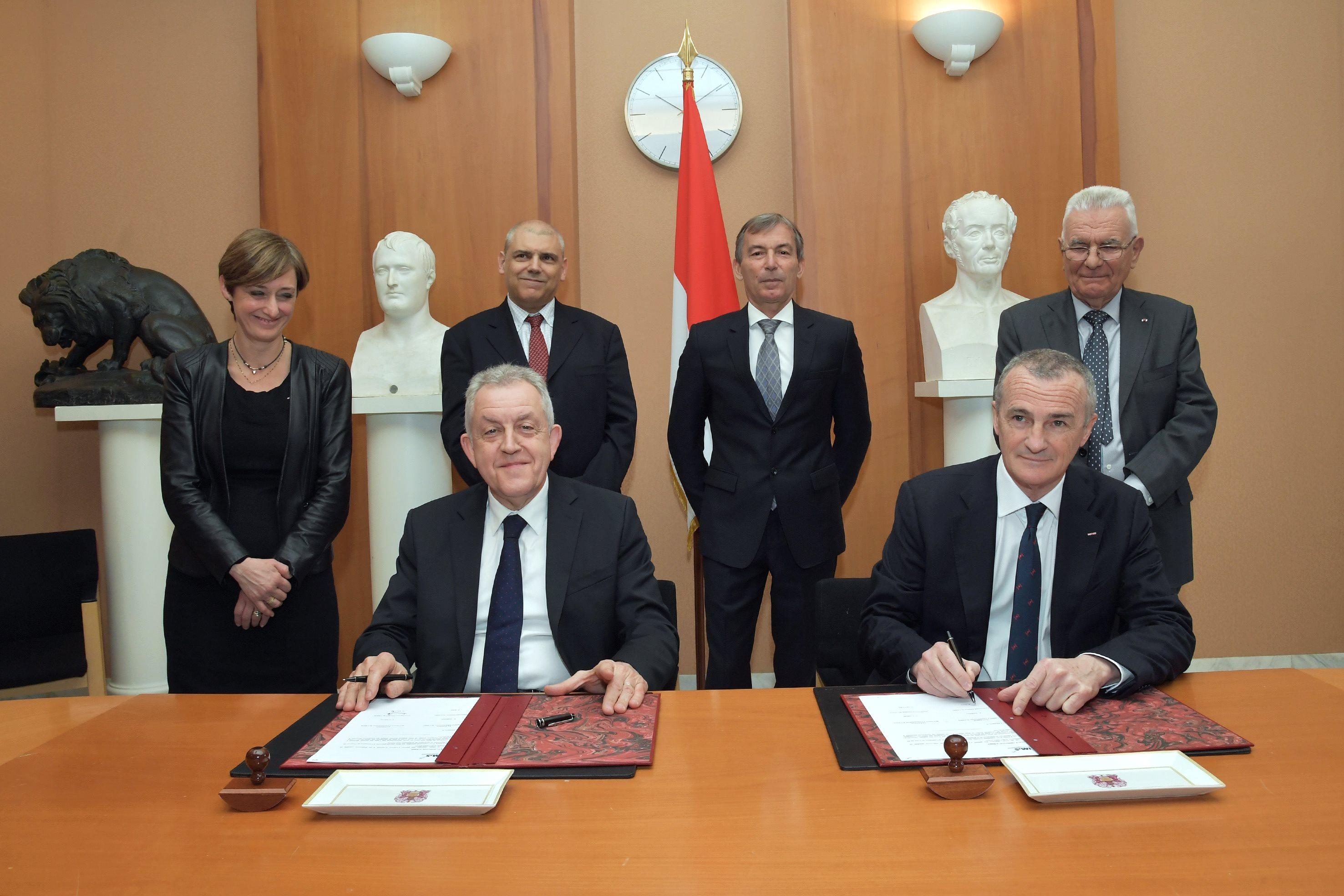 Signature de la convention CHPG-IM2S