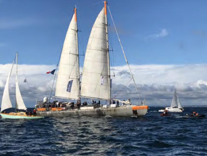 Tara Pacific, le retour à Lorient