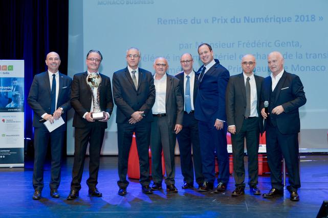 Prix du Numérique décerné à Surgisafe (Monaco Tech)