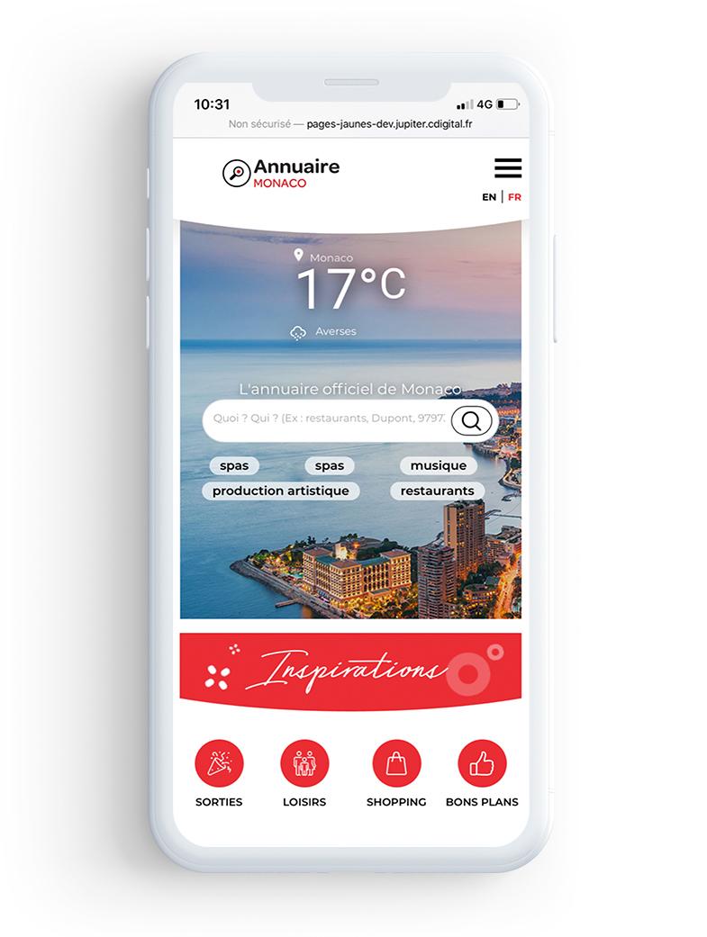 Découvrez le nouveau site mobile Annuaire de Monaco !
