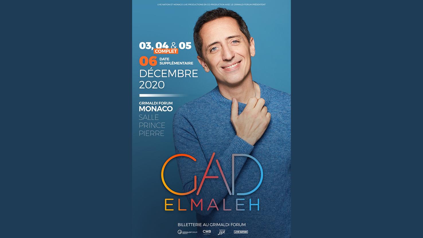 Gad Elmaleh fait un carton à Monaco