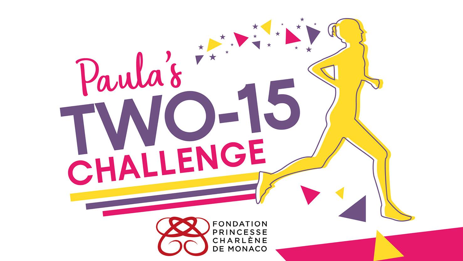 Toute la famille se met au sport avec le Paula's Two-15 Challenge