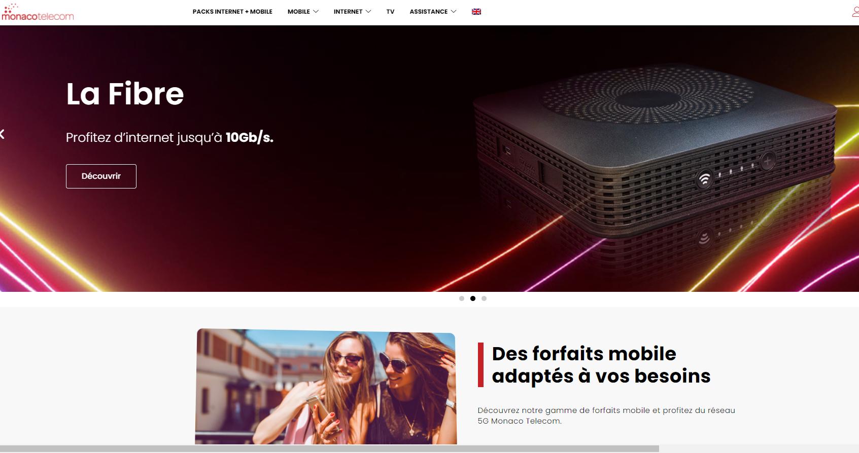 Découvrez le nouveau site web de Monaco Telecom !