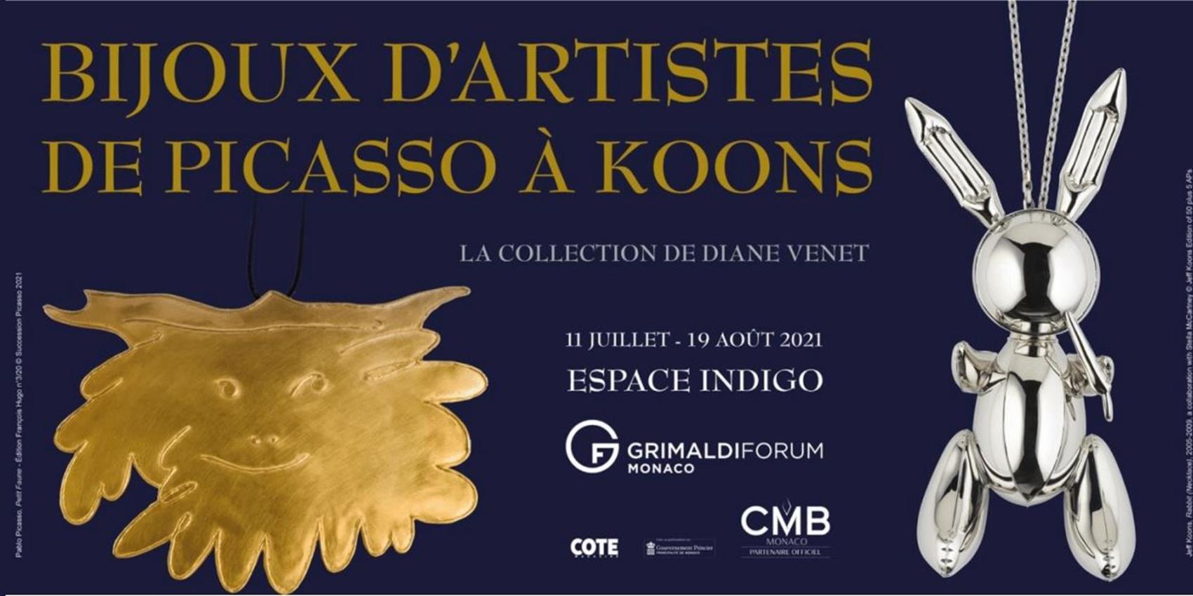 Au Grimaldi Forum, une exposition entre art et bijouterie